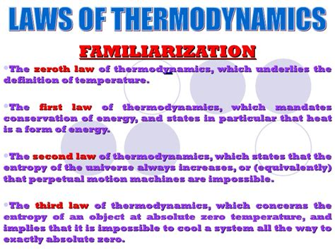 Write An Essay Describing The Laws Of Thermodynamics by Laws Of Thermodynamics