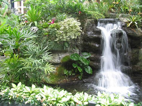 backyard fountains and waterfalls nice decors 187 blog archive 187 waterfall enhances the beauty of garden