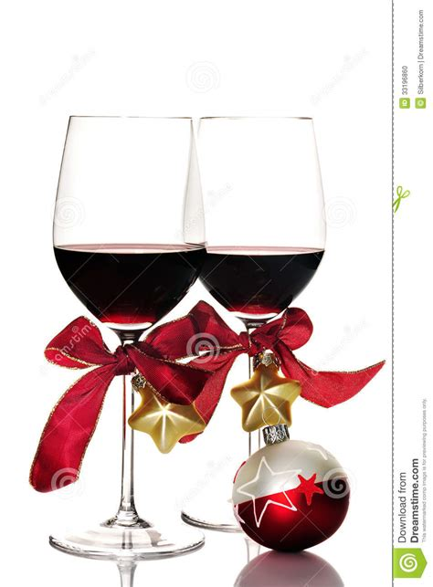 christmas wine glass svg red wine and christmas ornaments stock photo image of