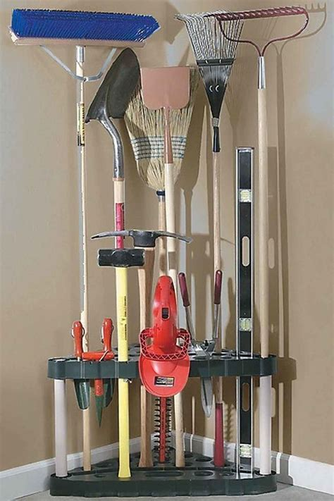 Garage Storage Ideas Garden Tools 17 Best Ideas About Garage Storage On Diy