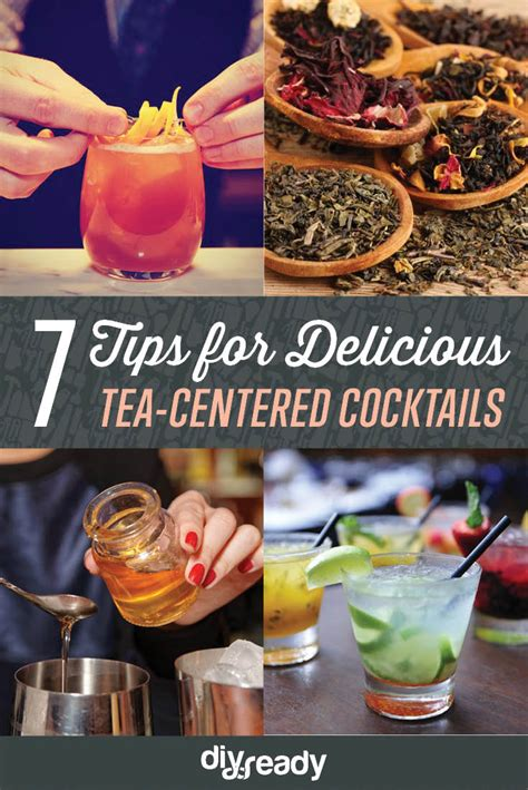 7 Great Martini Recipes by 7 Tips For Delicious Tea Centered Cocktails Easy