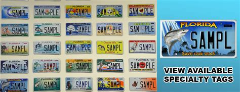 Florida Vanity Tags broward county auto tag services auto tag renewal