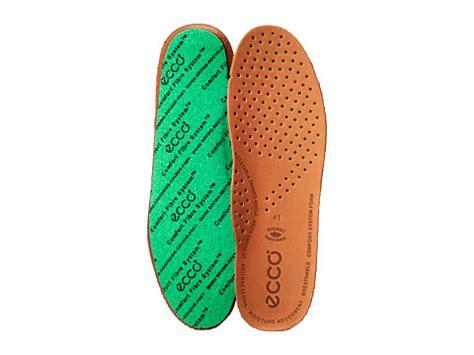 ecco comfort fibre system ecco comfort fiber system leather insole
