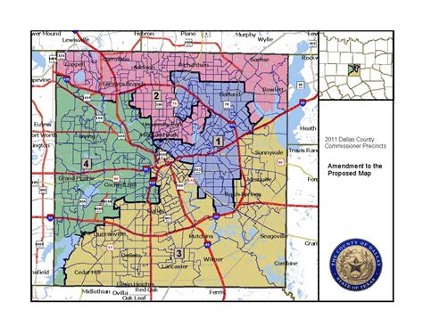 dallas texas county map dallas county the equal voting rights institute