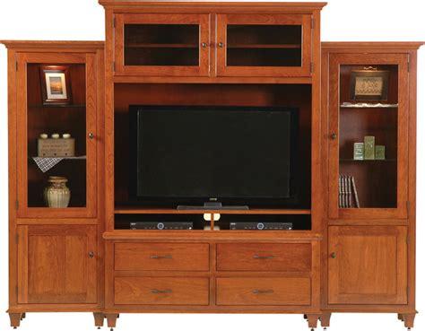 cherry wood entertainment bourten magnum wall unit entertainment center ohio