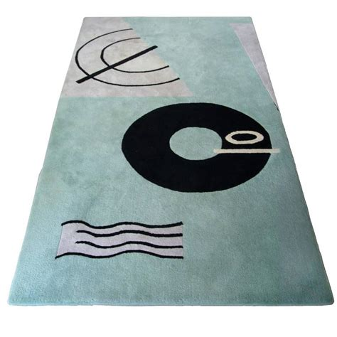 eileen grey rug modernist rug by eileen gray for e1027 by carpeticka west germany 1987 at 1stdibs