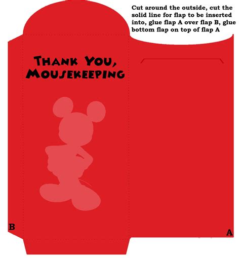 printable minnie mouse envelope printable customizable and cute mousekeeping money