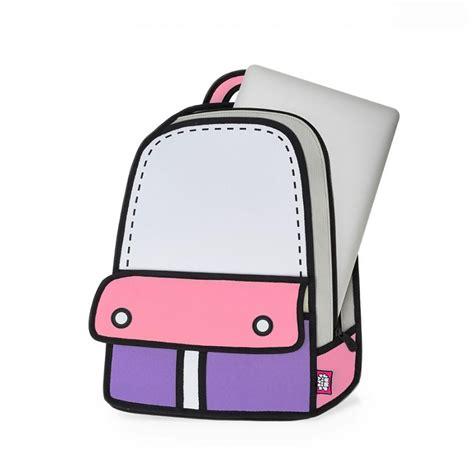 bag adventure pink backpack jumpfrompaper cartoon bag