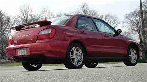 2002 subaru wrx stock turbo buy used sedona pearl 2002 subaru impreza wrx