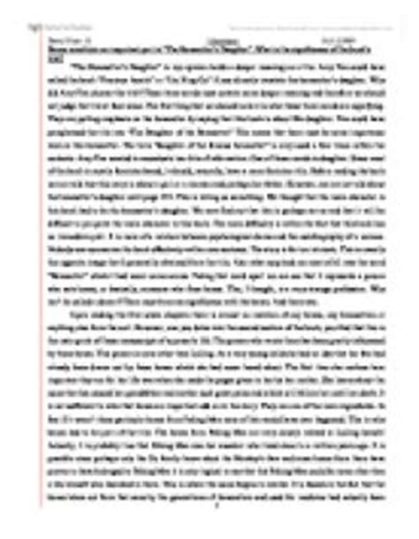 Bonesetters Essay by Bones Constitute On Important Part In Quot The Bonesetter S Quot What Is The Significance Of