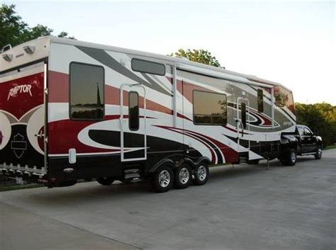 Used 2010 keystone raptor rp 3912 toy hauler for sale rvregistry com