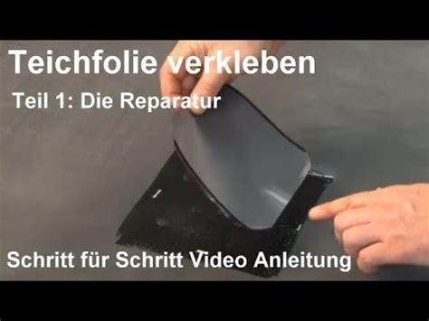 Folie Kleben Youtube by Teichfolie Kleben Anleitung Wie Sie Teichfolie Verkleben