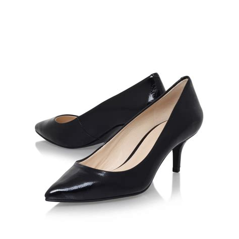 high heels nine west nine west xeena3 high heel court shoes in black lyst
