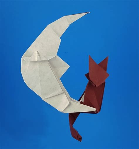 Fold Paper Moon - origami cats page 8 of 9 gilad s origami page