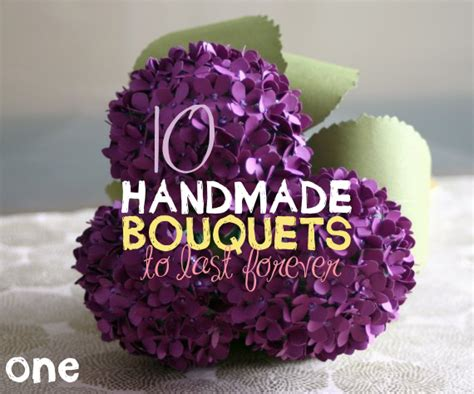 Handmade Wedding Bouquet Ideas - handmade wedding bouquets emmaline