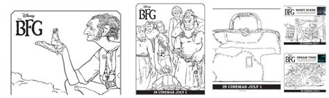 Junior Giants Sweepstakes - disney s the bfg featurette sweepstakes and coloring sheets thebfg