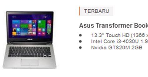 Laptop Asus Model Terbaru harga laptop asus terbaru dan spesifikasinya 2017