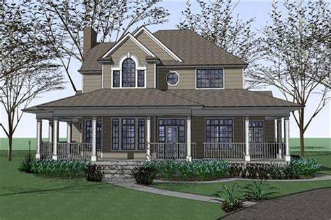 house plans with large porches country house plan 3 bedrms 2 5 baths 2543 sq ft 117 1042