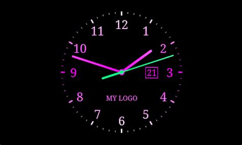 live clock themes for android analog clock live wallpaper 7 android apps on google play