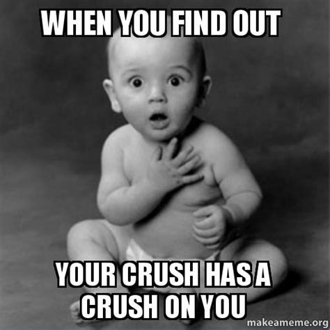 I Have A Crush On You Meme - when you find out your crush has a crush on you make a meme