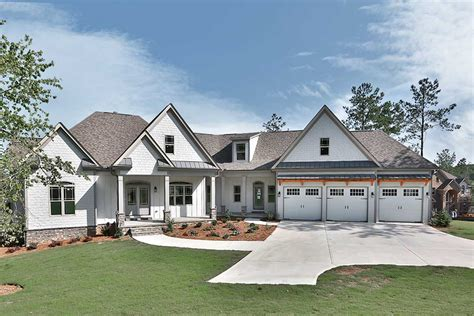 house plans ideas split bed craftsman with angled garage 36055dk architectural designs house plans