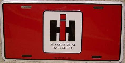 Harvester License Office by International Harvester Aluminum Vehicles License Plate