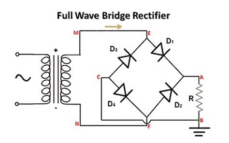 bridge diode power loss regulated power supply electrical study app by saru tech