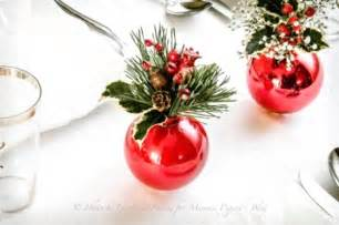 50 best diy christmas table decorations i love pink