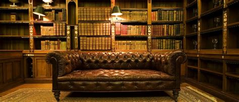 The History of the Chesterfield Sofa   B O R N