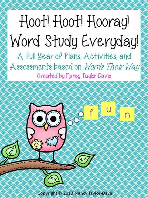Parent Letter Words Their Way 1000 Ideas About Word Pictures On