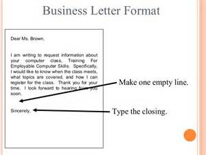 Business Letter Writing Class letter writing communication skills
