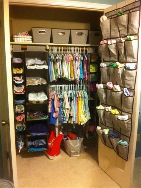 Closet Organizer For Baby by Nursery Closet Organization Baby Room Ideas
