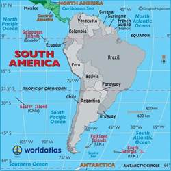 south america map to print large map of south america