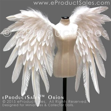 doll wings eproductsales miniature white bjd feather