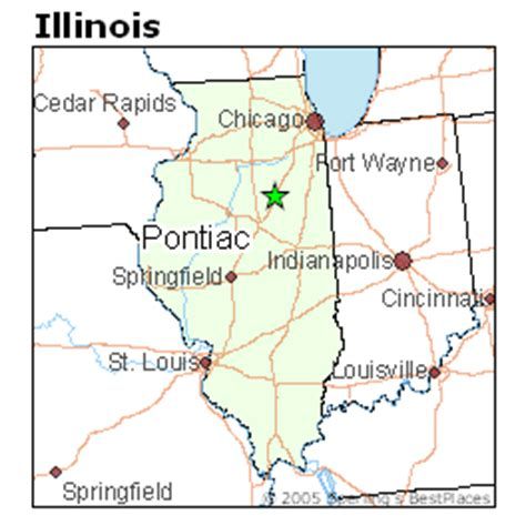 Pontiac Il Zip by Best Places To Live In Pontiac Illinois
