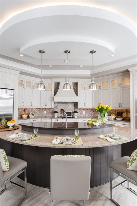Transitional Kitchen Lighting Transitional Kitchens Kitchen Transitional With Pendant Lighting Hanging Pots