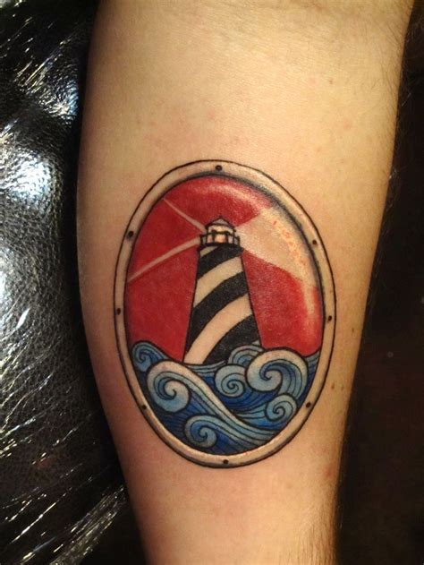 ocean wave tattoo fuckyeahtattoos looking out the porthole on my arm