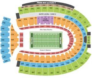 Ohio State Stadium Map by Ohio Stadium Tickets Ohio Stadium In Columbus Oh At