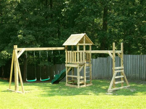backyard playsets with monkey bars backyard playground hand crafted wooden playsets swing