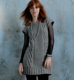 modele tricot robe femme