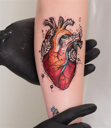 heartless tattoo 39 inspiring anatomical tattoos anatomical