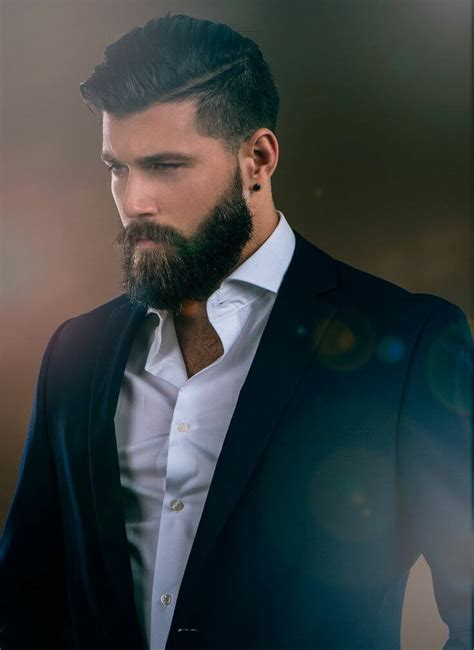 mens style hair bread choosing the perfect hairstyle and beard combination