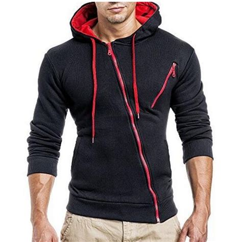 Hoodie Zipper Kombinasi Zem Clothing 2017 hoodies sweatshirt 3d hoodies mens brand clothing oblique zipper hoodie sweatshirt slim