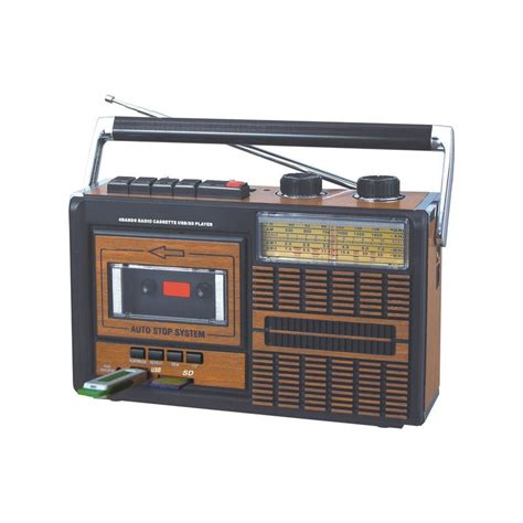 cassetta mp3 autoradio radio cassette vintage con conexi 243 n usb y tarjetas sd