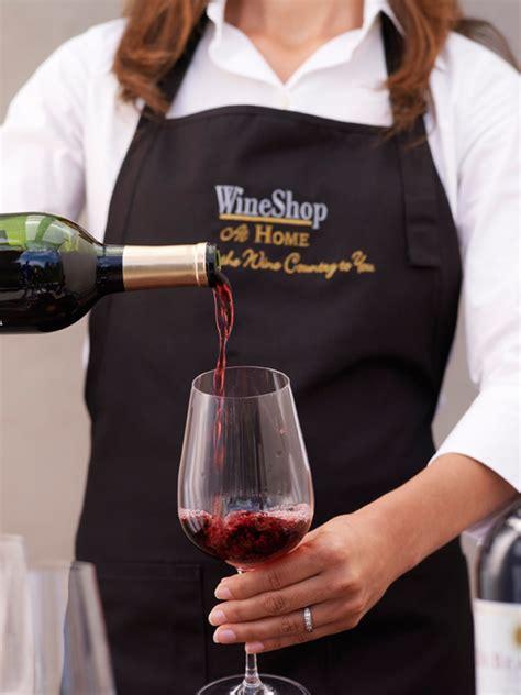 wineshop at home logo apron wineshop at home