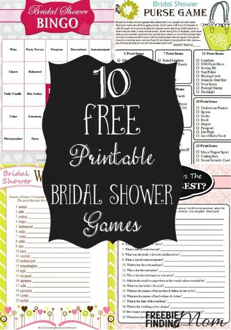 printable bridal shower for free 10 free printable bridal shower