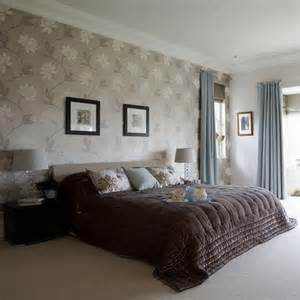 Bedroom Design Ideas Wallpaper Bedrooms With Wallpaper And Feature Walls Silk Interiors
