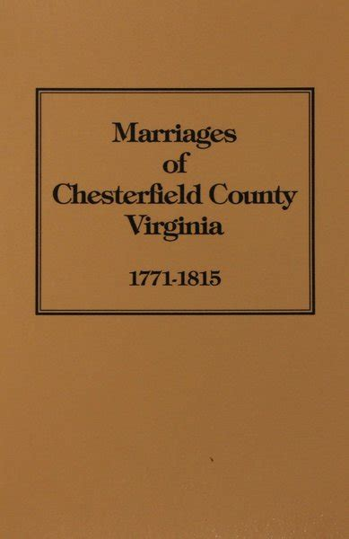 Detox Near Chesterfield County Va by Chesterfield County Virginia 1771 1815 Marriage Bonds