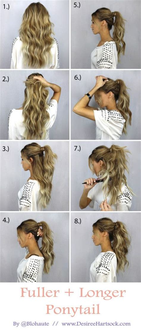 hairstyles for school beginners 30 simple easy ponytail hairstyles for lazy girls