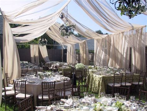 outdoor wedding draping outdoor wedding draping weddings by lilly